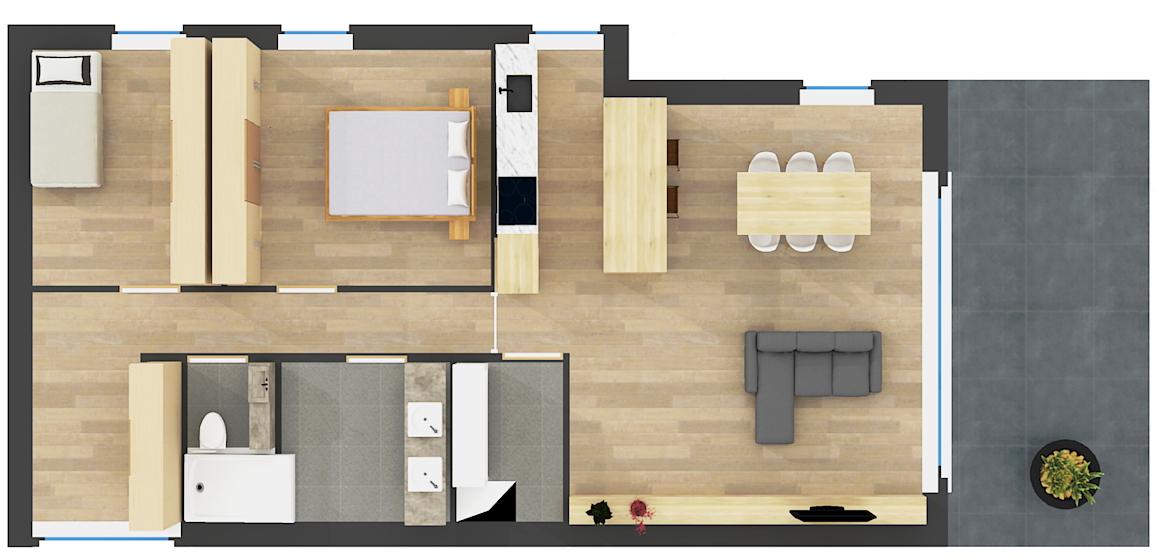 Studio's Appartementen Rotem Dilsen